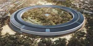 Spectacular Apple Campus Opening In April